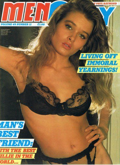 Front cover of Men Only Volume 49 No 11 magazine