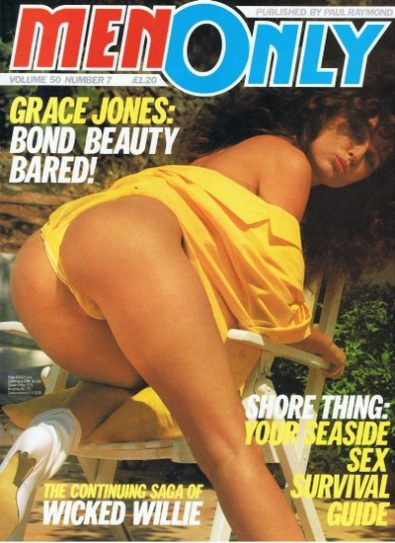 Front cover of Men Only Volume 50 No 7 magazine