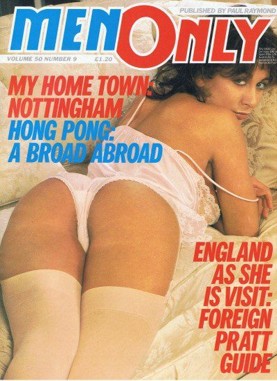 Front cover of Men Only Volume 50 No 9 magazine
