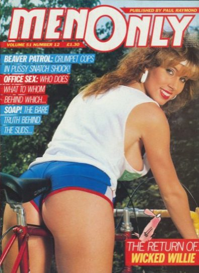 Front cover of Men Only Volume 51 No 12 magazine