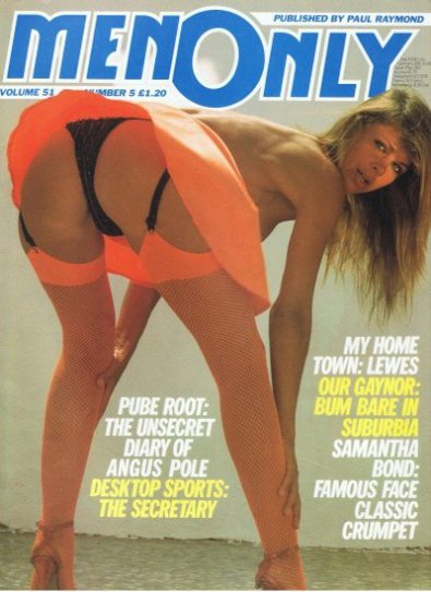 Front cover of Men Only Volume 51 No 5 magazine