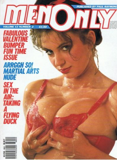 Front cover of Men Only Volume 53 No 2 magazine