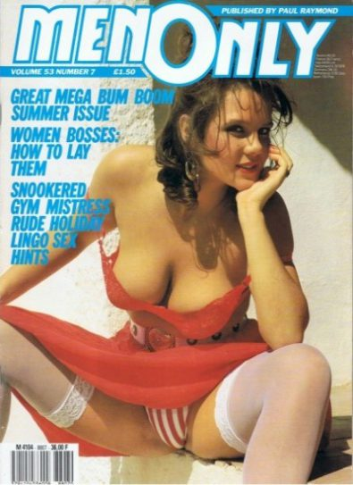 Front cover of Men Only Volume 53 No 7 magazine