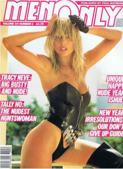 Front cover of Men Only Volume 54 No 1 magazine