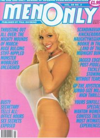 Front cover of Men Only Volume 58 No 3 magazine