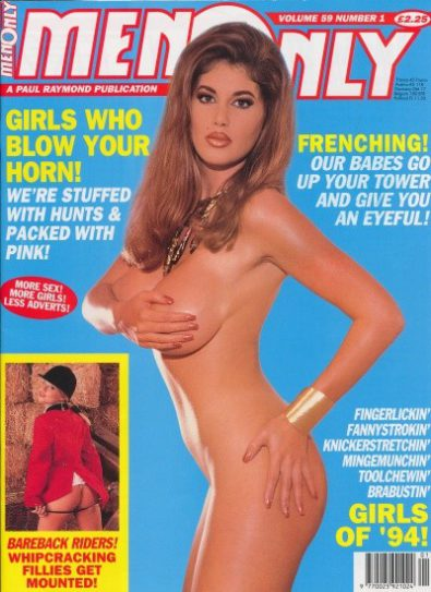 Front cover of Men Only Volume 59 No 1 magazine