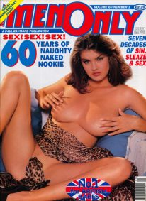 Front cover of Men Only Volume 60 No 1 magazine