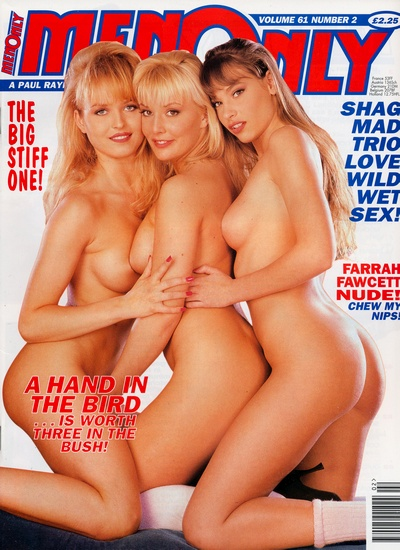 Front cover of Men Only Volume 61 No 2 magazine