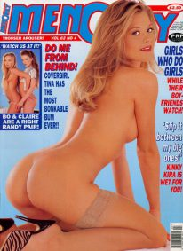 Front cover of Men Only Volume 62 No 4 magazine