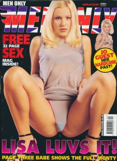 Front cover of Men Only Volume 64 No 4 magazine