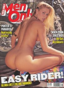 Front cover of Men Only Volume 71 No 5 magazine