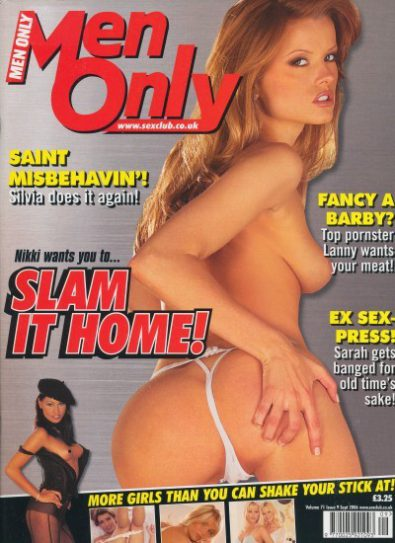 Front cover of Men Only Volume 71 No 9 magazine