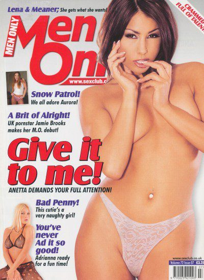 Front cover of Men Only Volume 72 No 7 magazine