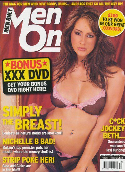 Front cover of Men Only Volume 73 No 12 magazine