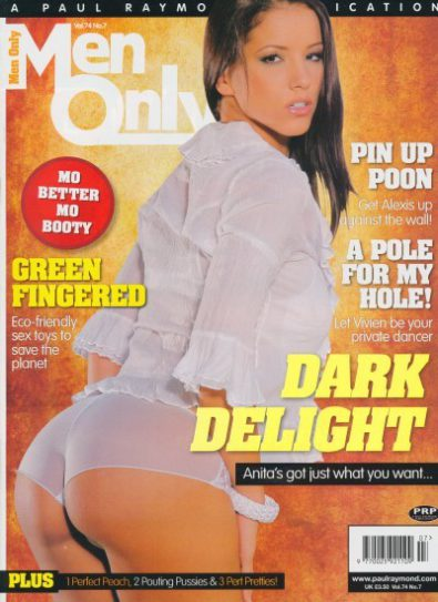 Front cover of Men Only Volume 74 No 7 magazine