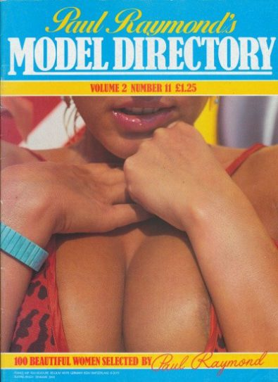 Front cover of Model Directory Volume 2 No 11 magazine