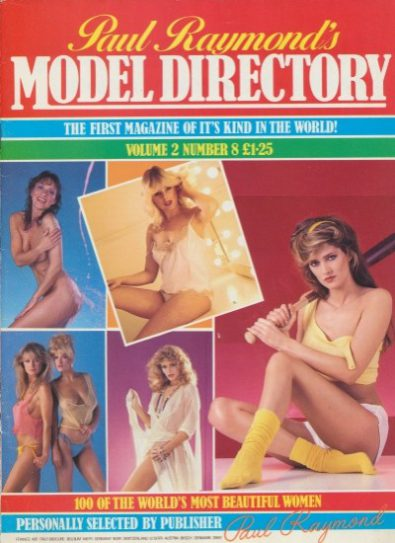 Front cover of Model Directory Volume 2 No 8 magazine