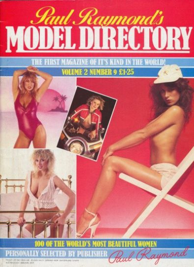 Front cover of Model Directory Volume 2 No 9 magazine
