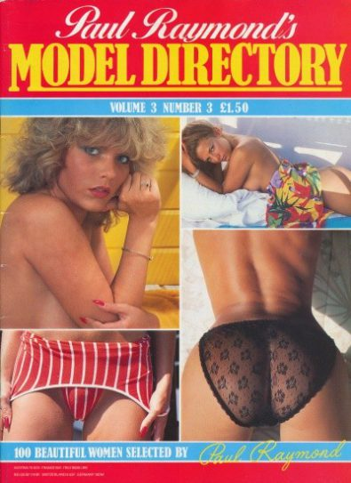 Front cover of Model Directory Volume 3 No 3 magazine