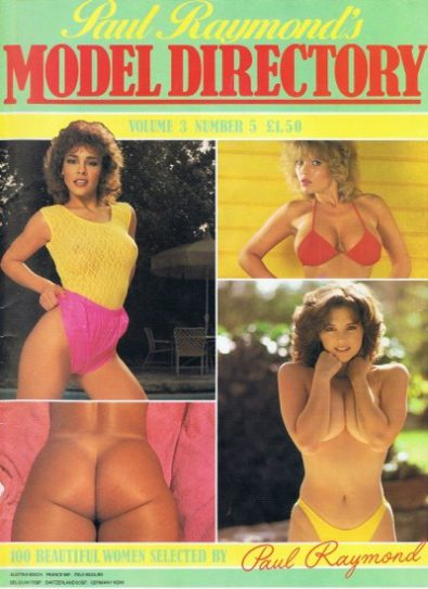 Front cover of Model Directory Volume 3 No 5 magazine