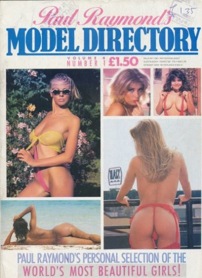 Front cover of Model Directory Volume 4 No 1 magazine