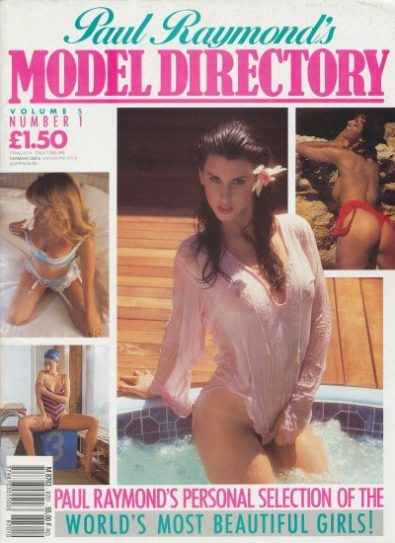 Front cover of Model Directory Volume 5 No 1 magazine