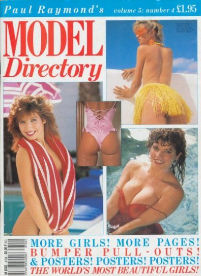 Front cover of Model Directory Volume 5 No 4 magazine