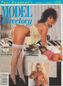 Front cover of Model Directory Volume 7 No 1 magazine