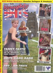Front cover of Naughty Brits Issue 6 magazine