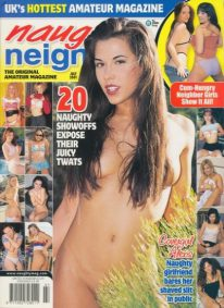 Front cover of Naughty Neighbours July 2001 magazine