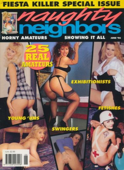 Front cover of Naughty Neighbors June 1996 magazine