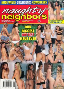 Front cover of Naughty Neighbors October 2000 magazine