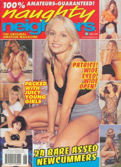 Front cover of Naughty Neighbors June 1998 magazine