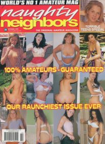 Front cover of Naughty Neighbors October 1999 magazine