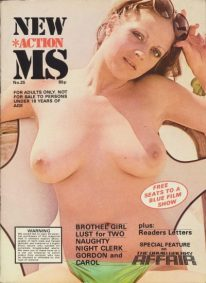 Front cover of New Action MS No 25 magazine