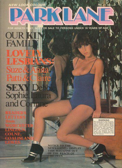 Front cover of Park Lane 51 magazine