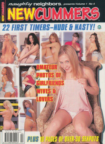 Front cover of Newcummers Volume 1 No 4 magazine