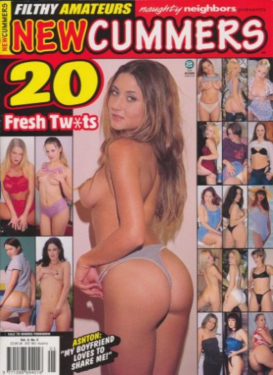 Front cover of Newcummers Volume 4 No 5 magazine