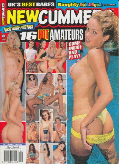 Front cover of Newcummers Vol 6 Number 2 magazine