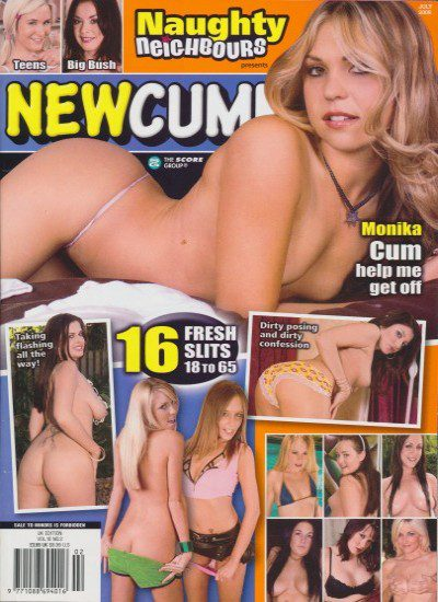Front cover of Newcummers July 2009 magazine