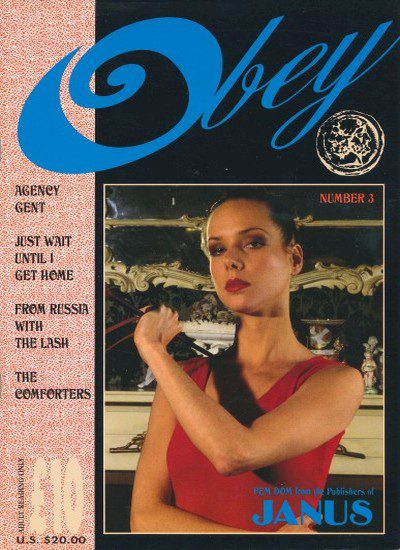 Front cover of Obey-3 magazine