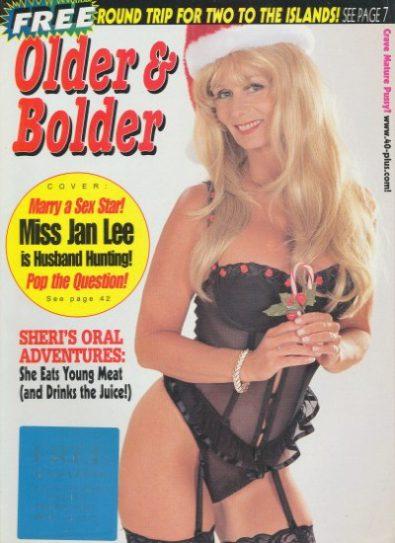Front cover of Older & Bolder December 1998 magazine