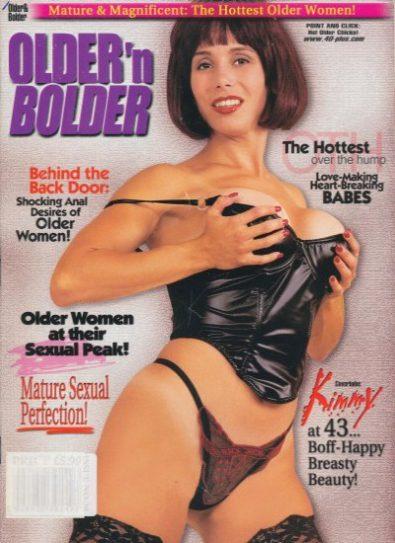 Front cover of Older n Bolder  April 2001 magazine