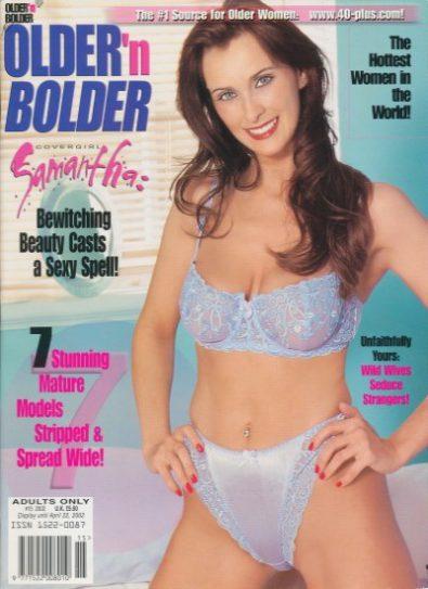 Front cover of Older & Bolder April 2002 magazine