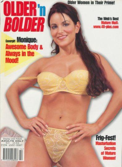 Front cover of Older n Bolder  Number 14 magazine