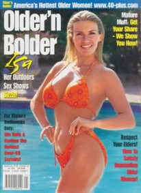 Front cover of Older n Bolder Issue 21 magazine