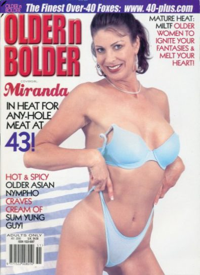 Front cover of Older n Bolder Issue 51 magazine