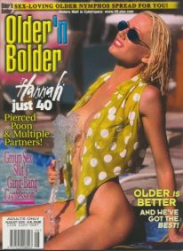 Front cover of Older n Bolder August 2000 magazine