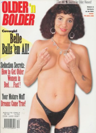 Front cover of Older n Bolder  December 2001 magazine