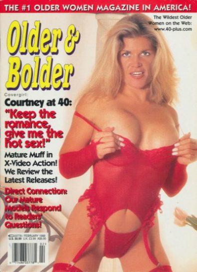 Front cover of Older & Bolder February 1998 magazine